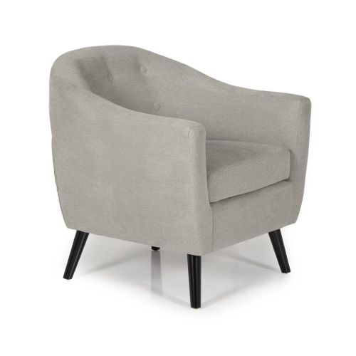 Ocassional Evie Grey Occasional Chair